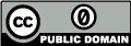 Creative Commons - Public Domain Dedication